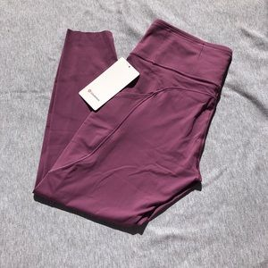 LuLuLemon fast and free in a dusty rose color